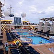 Caribbean Cruise - On Board Ship - 1212101 Poster