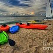 Caribbean Kayaks Poster