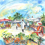 Caribbean Market Poster