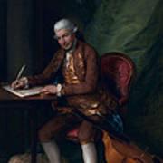Carl Friedrich Abel, C.1777 Poster