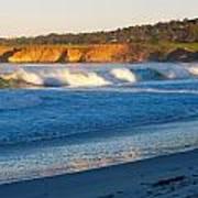 Carmel Beach California Poster