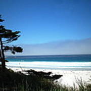 Carmel Beach California Usa Poster