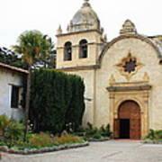 Carmel Mission Church Poster