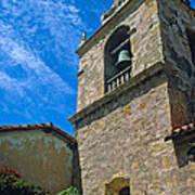 Carmel Mission In Sun Poster