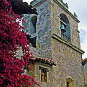 Carmel Mission Tower Poster