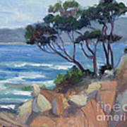 Carmel View From Point Lobos Poster