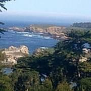 Carmel's Coastline Poster