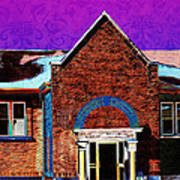 Carnegie Library North Platte Poster