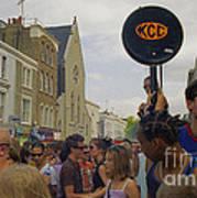 Carnival Celebration Social Occasion Crowds Poster