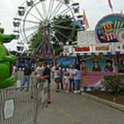 Carnival Ferris Wheel Poster