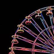 Carnival - Ferris Wheel Poster