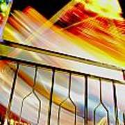 Carnival Ride Fence Poster