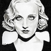 Carole Lombard Poster