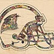 Carolina Panthers Logo Art Poster