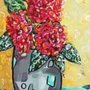 Carolyn's Roses Poster