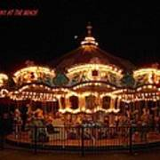 Carousel - Broadway At The Beach - Myrtle Beach Sc Poster