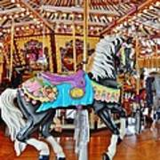 Carousel Horse 4 Poster