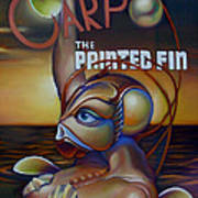 Carpo In The Painted Fin Poster