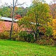 Carrollton Covered Bridge 2 Poster