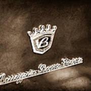 Carrozzeria Boano Emblem Poster