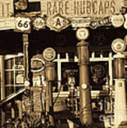 Carsland Route 66 Poster
