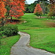 Cart Path Poster by Frozen in Time Fine Art Photography