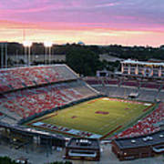 Carter-finley Stadium Poster by Elevated Perspectives LLC
