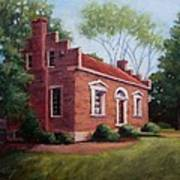 Carter House In Franklin Tennessee Poster by Janet King
