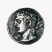Carthaginian Coin. Minted In Spain Poster