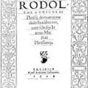Cartouche, 1529 Poster