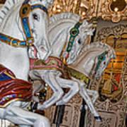 Caruosel Horses Poster
