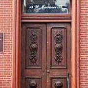 Carved Door Poster