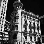 Casa De La Punxa Home To The Tarragona Chamber Of Commerce Catalonia Spain Poster