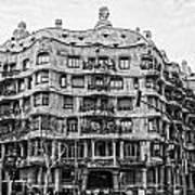 casa Mila barcelona Poster