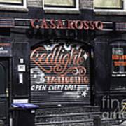 Casa Rosso Amsterdam Poster