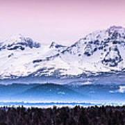Cascades Central Oregon Poster