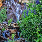 Cascading Falls Poster