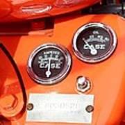Case Tractor Gauge 1953 Poster