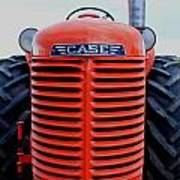 Case Tractor Grille Poster