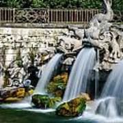 Caserta Palace Fountain 1 Poster
