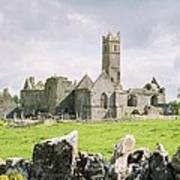 Cashel Abbey Poster