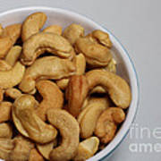 Cashews - Nuts - Snack Food Poster