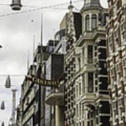 Casino Arcade Damrak Amsterdam Poster