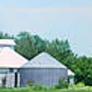 Cass County Farm Poster