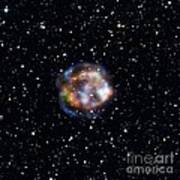 Cassiopeia A, Nustar X-ray Image Poster