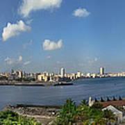 Castillo El Morro Havana Cuba Skyline Poster