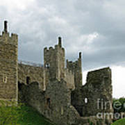 Castle Curtain Wall Poster