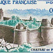 Castle Fougeres Poster