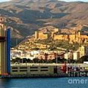 Castle In Almeria Spain Poster