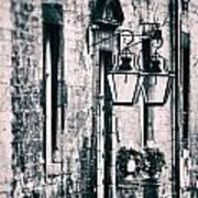 Castle Lamps Poster